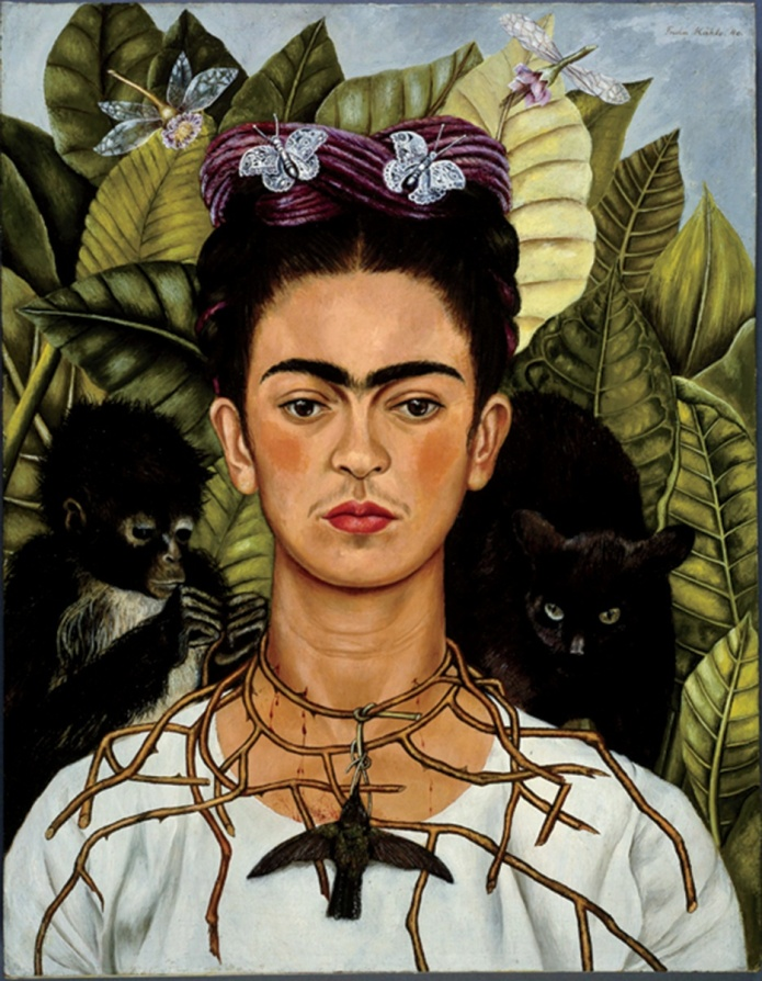 frida kahlo brow